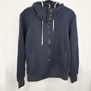Men's Zip Up Hoodie Sweater NWT Size M